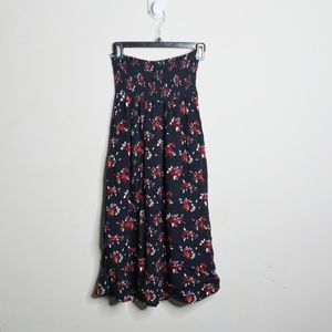 ✨NWT✨Susina Strapless floral midi dress